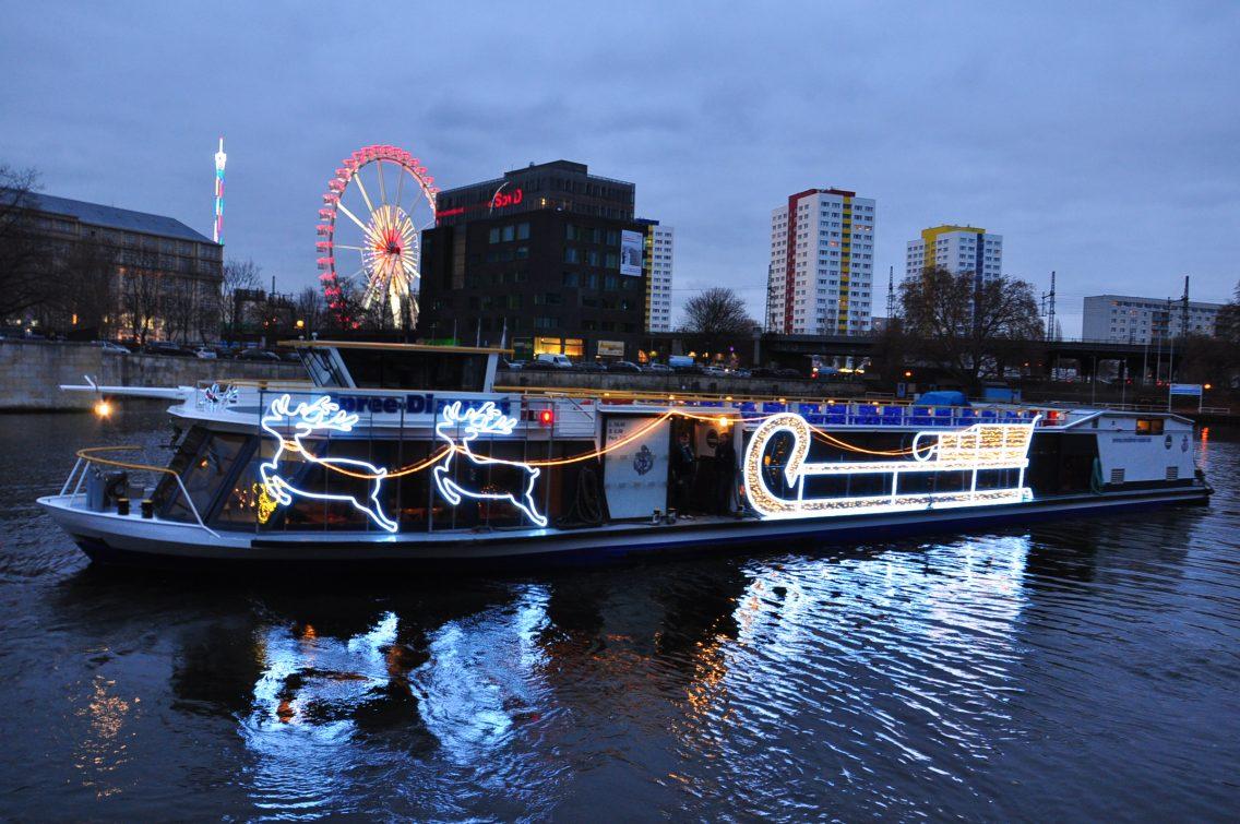 Weihnachtsfahrt   Reederei Riedel